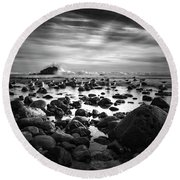 Leo Carrillo Light Round Beach Towel