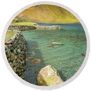 Levers Water Round Beach Towel
