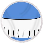 Long Dog Round Beach Towel