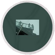 Looking Glass Round Beach Towel
