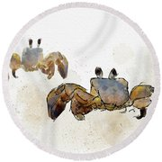 Love At Last Round Beach Towel