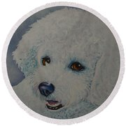 Lovely Lacy Round Beach Towel