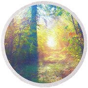 Lower Sabie Round Beach Towel