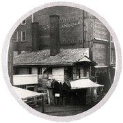 Loxley House, Philadelphia, Ca. Late 1850s Round Beach Towel
