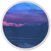 Magic Artic Round Beach Towel