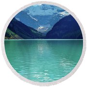 Magic At Lake Louise Round Beach Towel