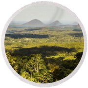 Majestic Maleny And Beyond Round Beach Towel