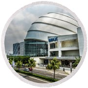 Mall Of Asia 4 Round Beach Towel