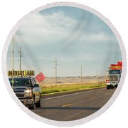 Megaload Round Beach Towel