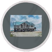 Melray Haven Round Beach Towel