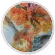 Metamorphosis Round Beach Towel