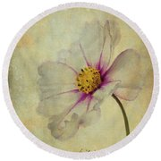 Mexican Aster Round Beach Towel