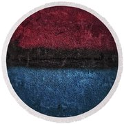 Middle Passage Blues Round Beach Towel