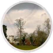 Moniack Castle Round Beach Towel