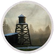 Round Beach Towel featuring the photograph More Of The Light - Hope Valley Art by Jordan Blackstone