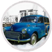 Morris Super Minor Round Beach Towel