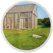Morrison House - Londonderry, New Hampshire Round Beach Towel