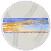 Mortal Round Beach Towel
