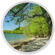 Moss Creek Beach Round Beach Towel