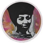 Mz Franklin Round Beach Towel