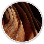 Natural Canyons Round Beach Towel