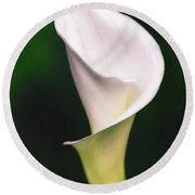 Natural Grace Round Beach Towel