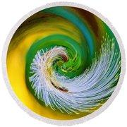 Nature's Spiral Round Beach Towel