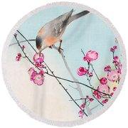 Nightingale Round Beach Towel