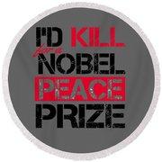 Nobel Prize Round Beach Towel