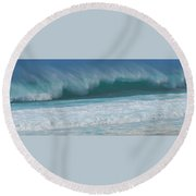 North Shore Surf's Up Round Beach Towel