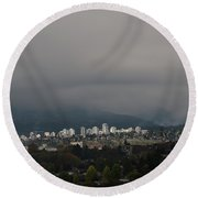North Vancouver Round Beach Towel