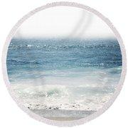 Ocean Dreams- Art By Linda Woods Round Beach Towel
