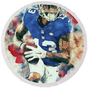 Odell Beckham Jr. Round Beach Towel