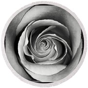 Old Rose Round Beach Towel