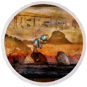 Once Upon A Time Round Beach Towel