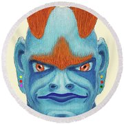 Orbyzykhan The Great Round Beach Towel