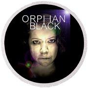 Orphan Black Round Beach Towel