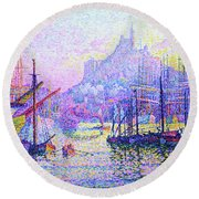 Our Lady Of The Guard - Digital Remastered Edition Round Beach Towel