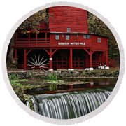 Ozarks Mill Round Beach Towel