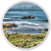 Pacific Round Beach Towel
