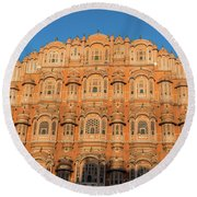 Palace Of The Winds Round Beach Towel