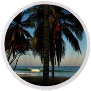 Paraiso Round Beach Towel