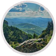 Parkway Overlook Round Beach Towel