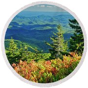 Parkway Tree Round Beach Towel