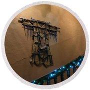 Round Beach Towel featuring the photograph Patzcuaro Wall Hanging by Rosanne Licciardi