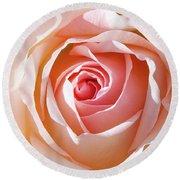 Soft As A Rose Round Beach Towel