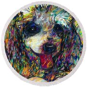 Pepper Round Beach Towel