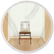 Picasso's Museum Chair Round Beach Towel
