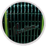 Pontiac - Close Round Beach Towel