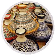 Porcelain Tagine Cookers  Round Beach Towel